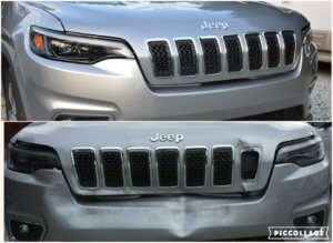 Jeep before and after